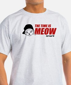 Time Is Meow Keanu T-Shirt