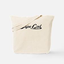 Cape Cod Massachusetts Vintage Logo Tote Bag