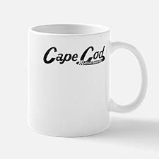 Cape Cod Massachusetts Vintage Logo Mugs