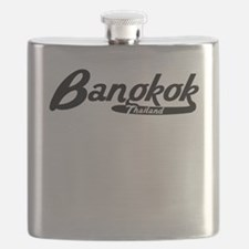 Bangkok Thailand Vintage Logo Flask