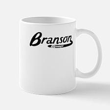 Branson Missouri Vintage Logo Mugs