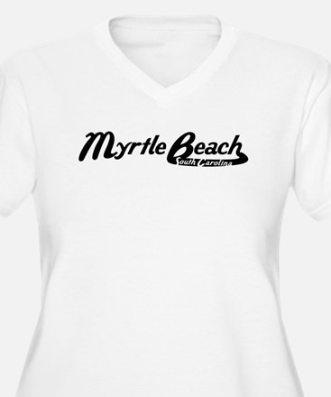 Myrtle Beach South Carolina Vintage Logo Plus Size