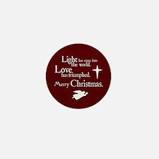 Light & Love Mini Button