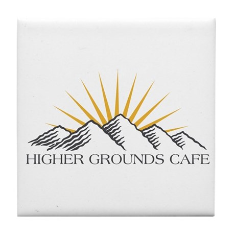 Higher Grounds Tile Coaster
