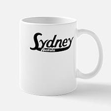Sydney Australia Vintage Logo Mugs