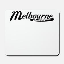Melbourne Australia Vintage Logo Mousepad