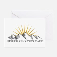 Higher Grounds Greeting Card