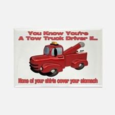Tow Truck Tshirts and Gifts Rectangle Magnet