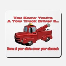 Tow Truck Tshirts and Gifts Mousepad