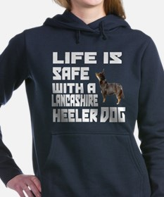 Life Is Safe With A Lanc Women's Hooded Sweatshirt