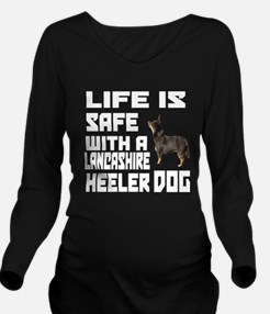 Life Is Safe With A Long Sleeve Maternity T-Shirt