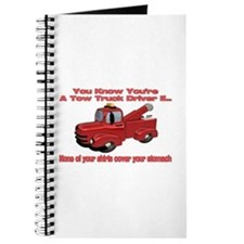 Tow Truck Tshirts and Gifts Journal