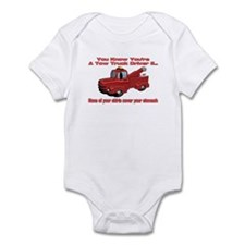 Tow Truck Tshirts and Gifts Infant Bodysuit