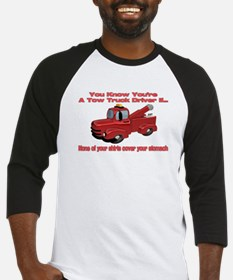 Tow Truck Tshirts and Gifts Baseball Jersey