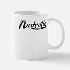 Nashville Tennessee Vintage Logo Mugs