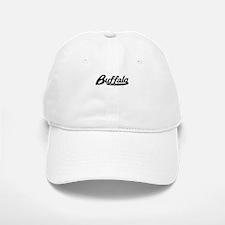 Buffalo New York Vintage Logo Baseball Baseball Baseball Cap