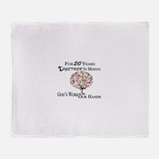 The 20th Anniversary Design Throw Blanket
