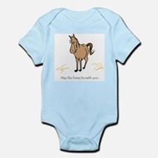 May the horse be with you Body Suit