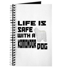 Life Is Safe With AKomondor Dog Journal