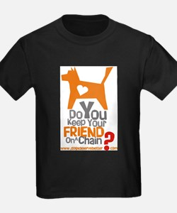 Keep Your Friend on a Chain? Ash Grey T-Shirt