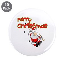 """Christmas Rocks 3.5"""" Button (10 pack)"""