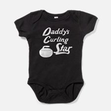 Daddys Curling Star Baby Bodysuit