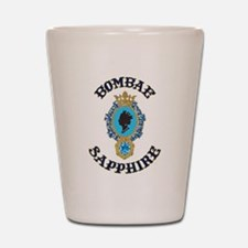 Bombae Sapphire Shot Glass