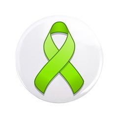 Lime Awareness Ribbon 3.5