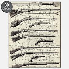 Vintage Guns Puzzle