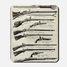 Vintage Guns Mousepad