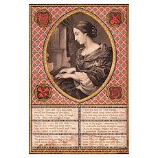 Victorian Prayer Poster