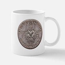 Silver Shilling Mug