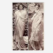Renaissance Figure Postcards (Package of 8)