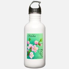 Polska Floral Print Water Bottle