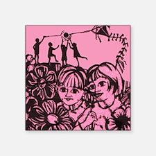 "Playful Days Square Sticker 3"" x 3"""