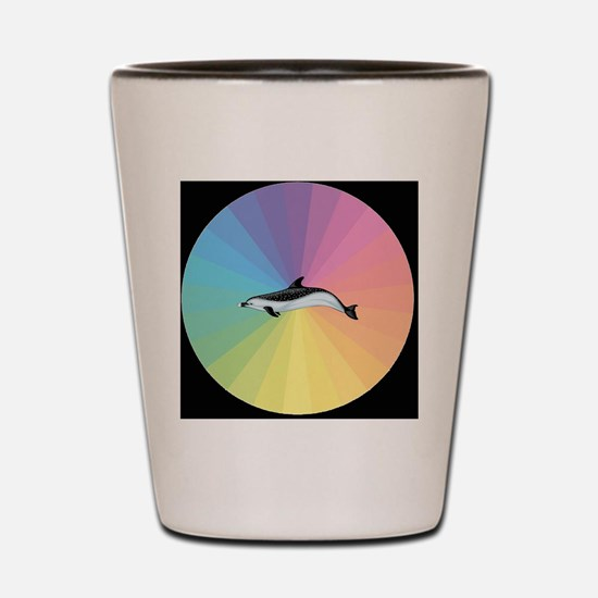 Pastel Dolphin Shot Glass