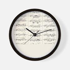 Musical Styles Wall Clock