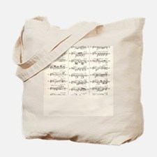 Musical Styles Tote Bag