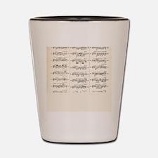 Musical Styles Shot Glass