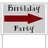 1st birthday Yard Signs