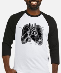 Heart Diagram Baseball Jersey
