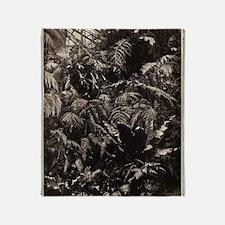 Graceful Ferns Throw Blanket