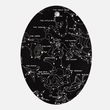 Constellation Oval Ornament