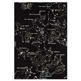 Constellations Wrapped Canvas Art