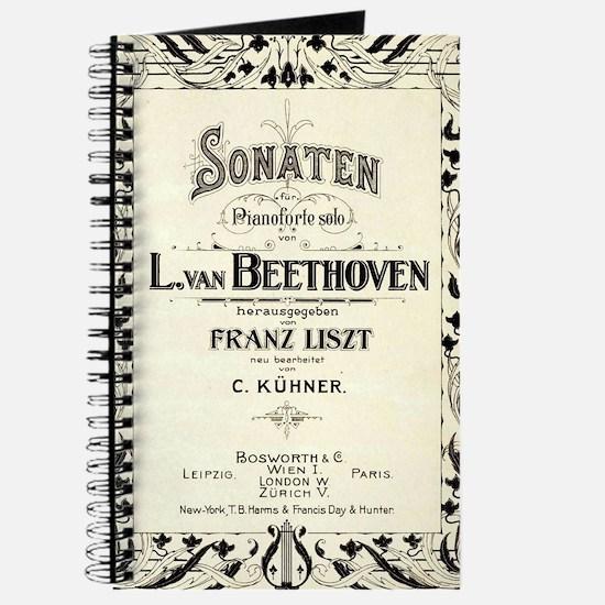 Beethoven Sonata Journal