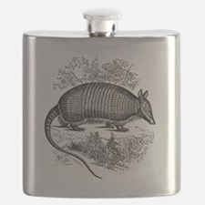 Cute Armadillo Flask