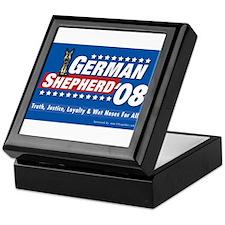 German Shepherd for President Keepsake Box