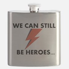 We Can Still Be Heroes Flask