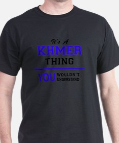 It's KHMER thing, you wouldn't understand T-Shirt
