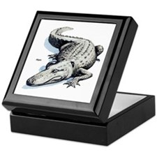 Alligator Gator Keepsake Box